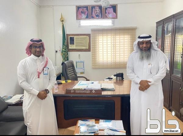 جمعية البر ببارق تستقبل رئيس قسم القروض الإنتاجية ببنك التنمية
