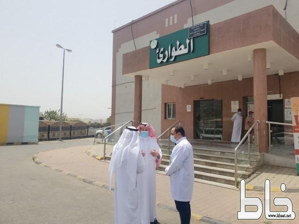 محافظ المجاردة في جولة ميدانية يزور مركز أحد ثربان ومستشفى المجاردة العام