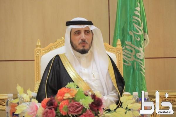 محافظ بارق يهنئ القيادة الحكيمة بحلول شهر رمضان المبارك