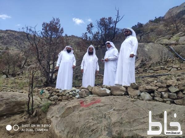 المرحلة الاولى من اعادة تأهيل جبل غلامه بمحافظة تُنومةْ