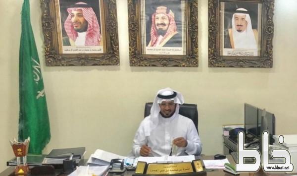 قائد مدرسة الملك عبدالله بمركز خاط يعلن العشرة الاوائل