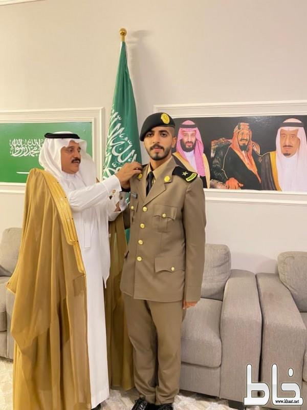 الشيخ فهد بن زارع العمري يحتفل بتخرج ابنه الملازم سلطان من كلية الملك فهد الامنية