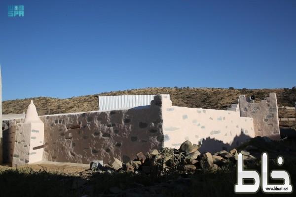 من مشروع الأمير محمد بن سلمان لتطوير المساجد التاريخية بالمملكة .. مسجد المضفاة التاريخي في بللسمر