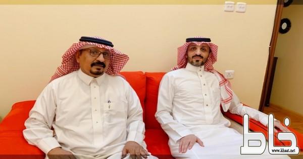 عبدالله البارقي يحتفل بتخرج ابنه إبراهيم وحصوله على درجة الماجستير