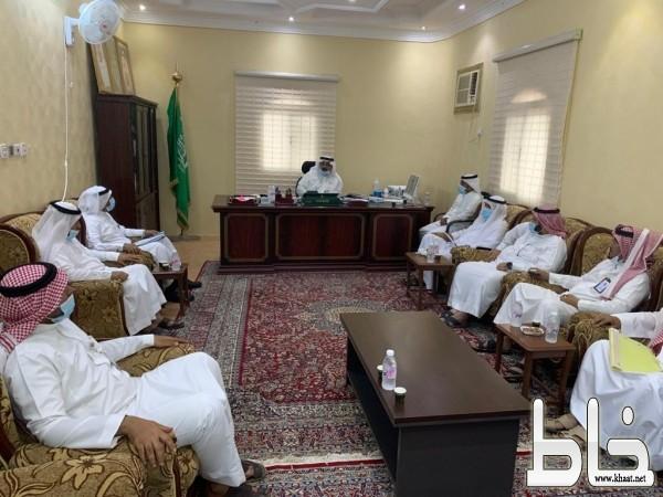 المجلس البلدي ببارق يزور مركز جمعة ربيعة