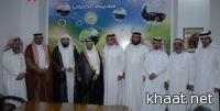 الشيخ العريفي يزور المركز الإعلامي بالنماص