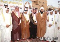 محافظ النماص يشهد الزواج الجماعي لقبيلة بني بكر