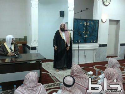 الشيخ الحدادي  يحاضر عن كرامات الصالحين ضمن نادي جامعة الامام
