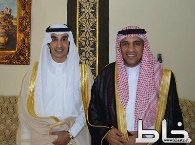 العميد ركن متقاعد عبدالله حبسان يحتفل بزواج طلال