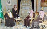 نائب خادم الحرمين الشريفين يستقبل أمير عسير
