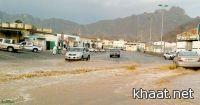 شوارع المجاردة بلا تصريف لمياه الأمطار  ( صور )