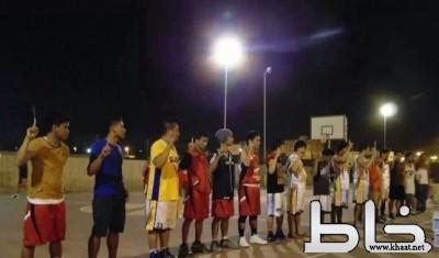 إسلام 15 فلبينيا بدوري كرة سلة بمحايل عسير