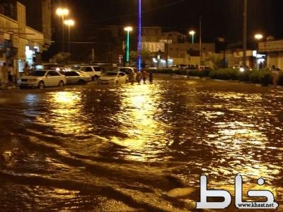 محافظة المجاردة  ومراكزها تشهد أمطار هي الأغزر منذ عشرات السنين