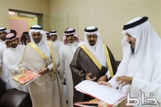 برعاية الرعيني وحضور الحياني افتتاح مبنى الثانوية الاولى للبنات بالمجاردة