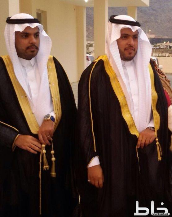 عبدالعزيز غالب يحتفل بزواج نجليه سعود و محمد