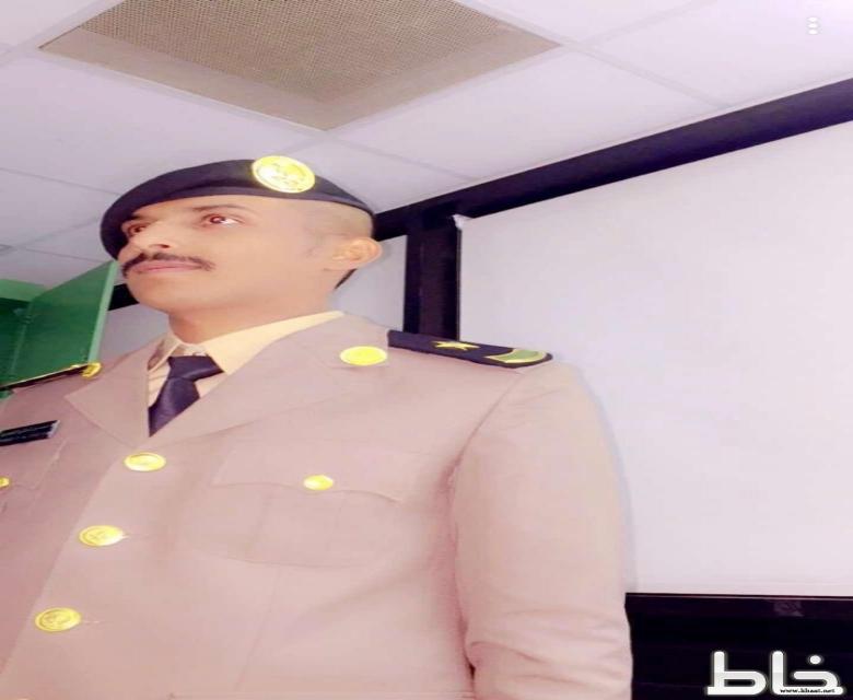 الملازم أحمد تركي آل قردان يحتفل بتخرجه من كلية الملك فهد الأمنية