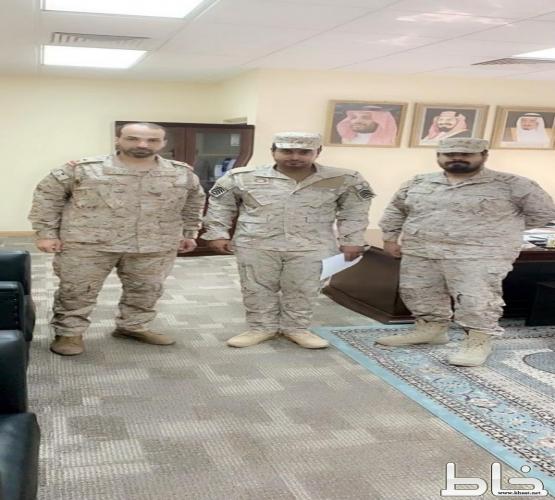 علي بن سعيد الصميدي إلى رتبة رقيب أول