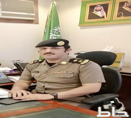 محمد مشاري الغيلاني مدير ادارة شؤون الأمن بشرطة المجاردة إلى رتبة مقدم