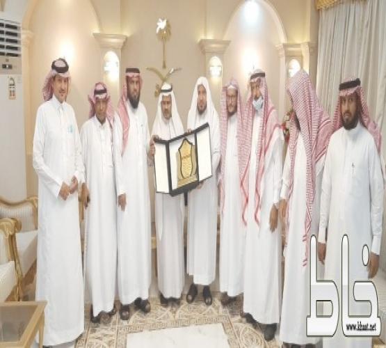 إدارة مجلس جمعية دعوة المجاردة في زيارة للأستاذ بلقاسم بن محمد ربيع